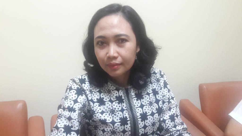Anggota komisi B DPRD Jatim Suharti saat ditemui di Surabaya, Selasa (7/11). (Foto: Tri Wahyudi/NusantaraNews)