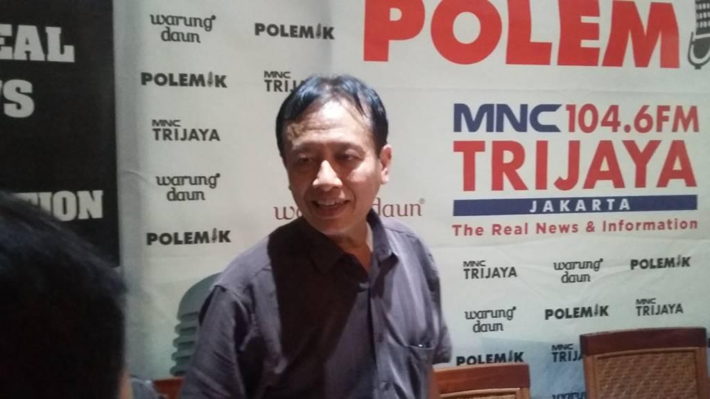 Staf Ahli Kementerian Komunikasi dan Informatika (Kemenkominfo) Bidang Hukum Henri Subiakto. (Foto: Ucok Al Ayubbi/NusantaraNews)
