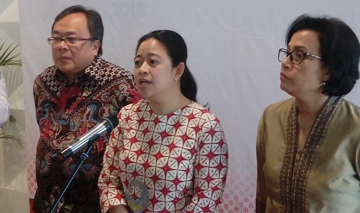 Menteri Koordinator Pembangunan Manusia dan Kebudayaan Puan Maharani. Foto Richard Andika/ NusantaraNews