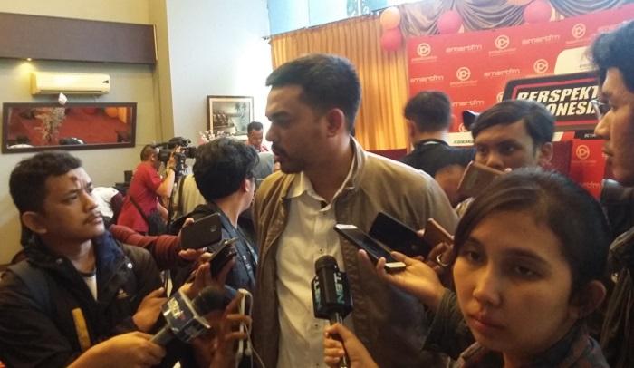 Wakil Sekjend DPP Partai Golkar, Maman Abdurrahman. Foto Ucok Al Ayyubi/ NusantaraNews