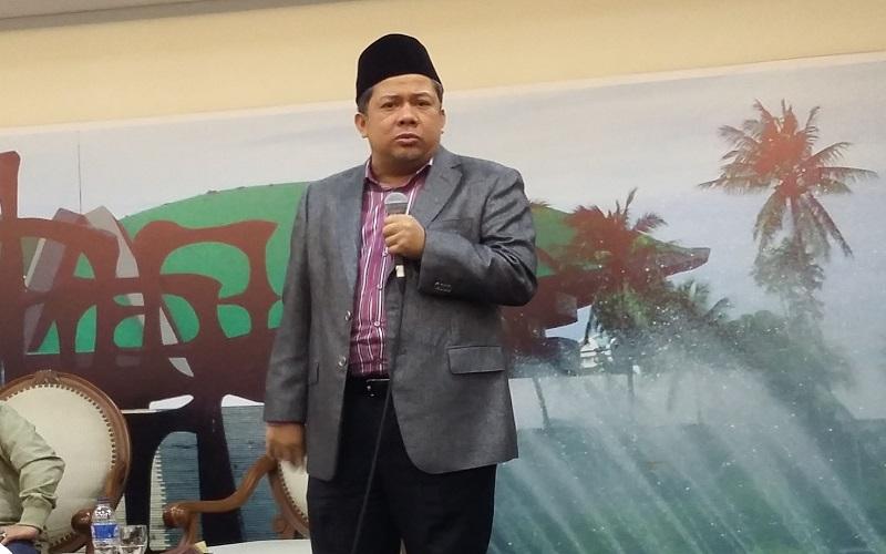 Wakil Ketua DPR RI, Fahri Hamzah sebut kerugian negara 2,3 triliun dalam kasus e-KTP sebagai kebohongan publik. Foto: NusantaraNews/Syaefuddin A