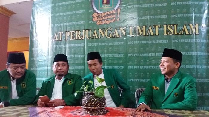 DPW PPP Jatim didampingi DPC PPP Sumenep. Foto Mahdi/ NusantaraNews