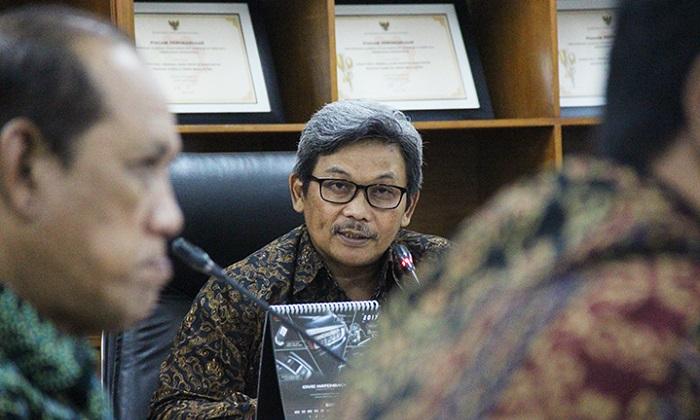 Direktur Jenderal Industri Kimia, Tekstil, dan Aneka (IKTA) Kementerian Perindustrian (Kemenperin) Achmad Sigit Dwiwahjono. Foto: Dok. Humas Kemenperin