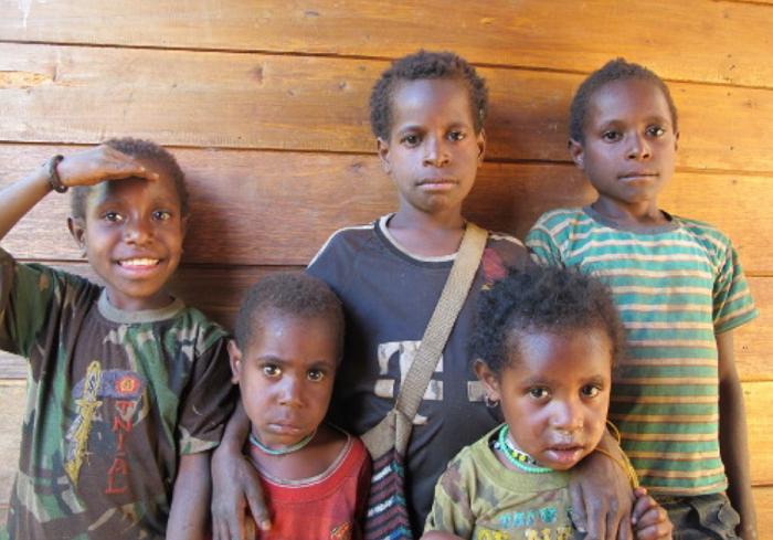 Keceriaan Anak-Anak Papua (Foto Ilustrasi/Istimewa)