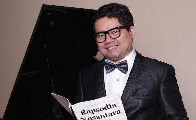 Pianis dan komponis, Ananda Sukarlan. Foto: Dok. Pribadi/Istimewa