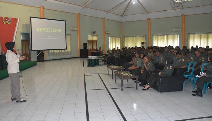 Danrem Bhaskara Jaya: Hipertensi Ancaman Semua Usia. Foto: Agung Prasetyo B/ NusantaraNews