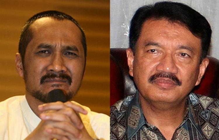 BG dan Abraham Samad (Foto Istimewa/Nusantaranews.co)