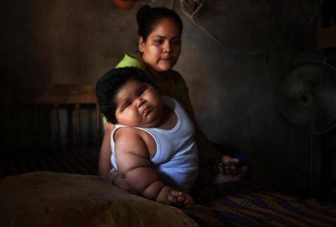Luis Manuel Gonzales lahir dengan berat badan normal sebagaimana bayi pada umumnya yaitu 3,6 kilo gram. (Getty Images)