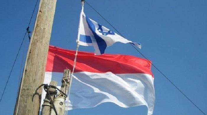 Bendera Indonesia dan Yahudi (Ilustrasi). Foto: Dok. Ruang Juang