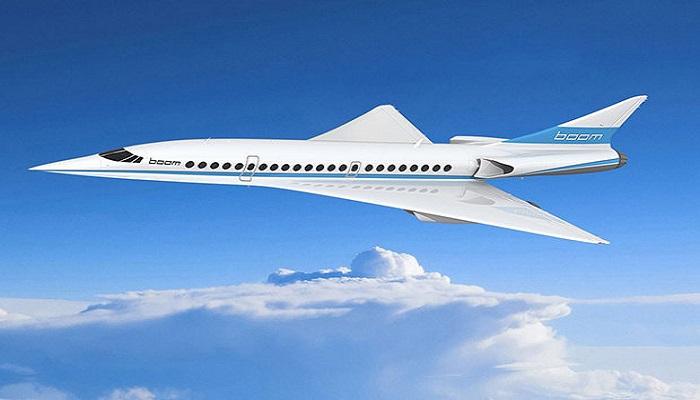 Boom Supersonic akan antarkan penumpang dari New York-London kurang dari dua jam. Foto: Boom