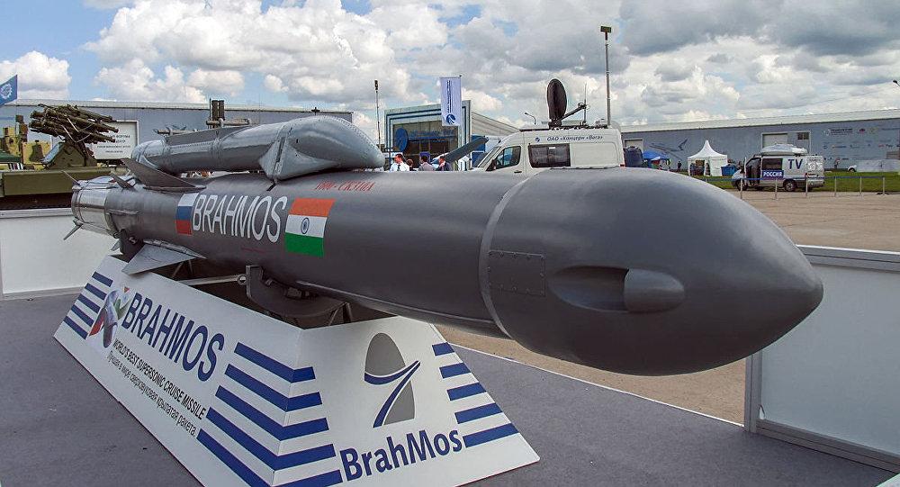 Rudal jelajah BrahMos Angkatan Udara India (IAF). Foto: CC BY-SA 3.0/Mike1979 Russia/BrahMos missile