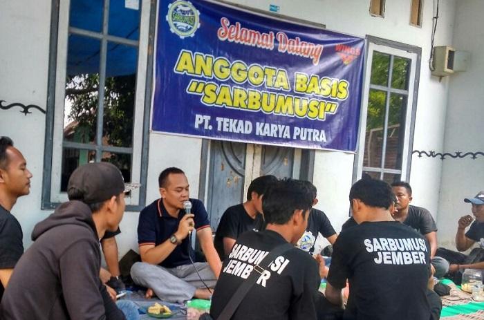 DPC Sarbumusi Kabupaten Jember, gelar diskusi. (Foto Istimewa/Nusantaranews)