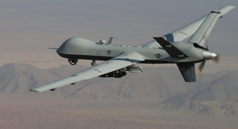 Pesawat tak berawak Amerika Serikat bersiap melakukan operasi drone armed ke Niger, Afrika. (Foto: AP Photo/Leslie Pratt, US Air Force)