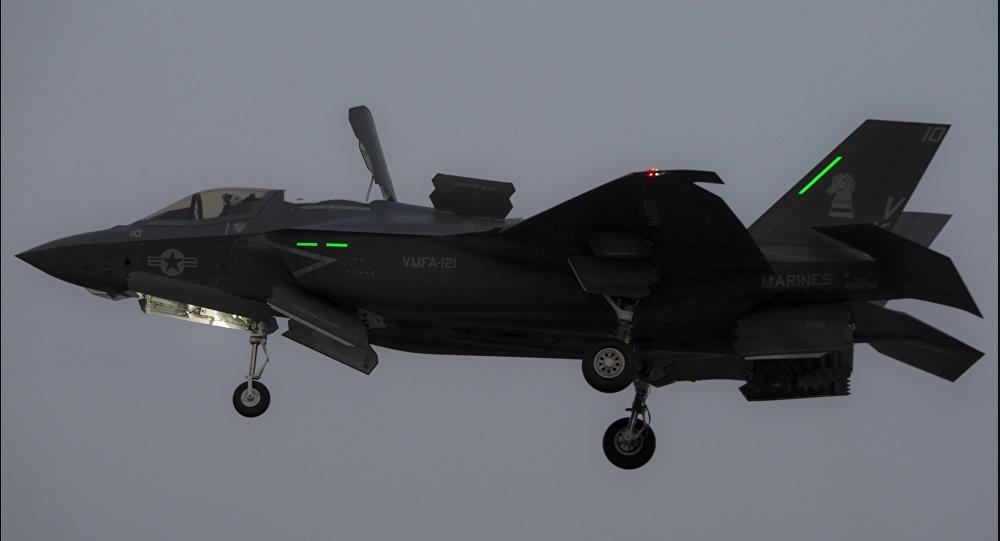 Satu skuadron jet tempur F-35B AS dikirim ke Iwakuni, Jepang bersama pasukan marinir. Foto: USMC Cpl. Aaron Henson