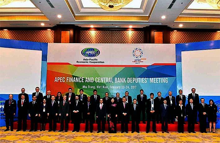 Para Delegasi Forum APEC 2017, di Da Nang, Vietnam/Foto:customnews