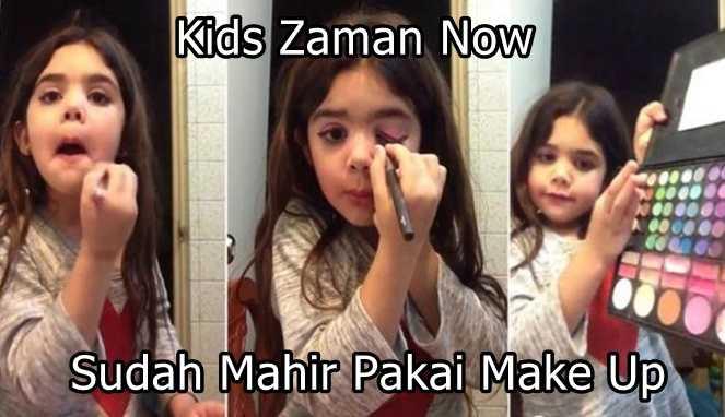 Ilustrasi kids zaman now (Foto via kompasiana)