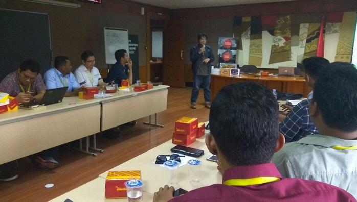Pengurus Pusat (PP) GMKI gelar Focus Group Discussion (FGD) bersama Komisi Pemberantasan Korupsi (KPK). Foto Ucok Al Ayubbi/ NusantaraNews