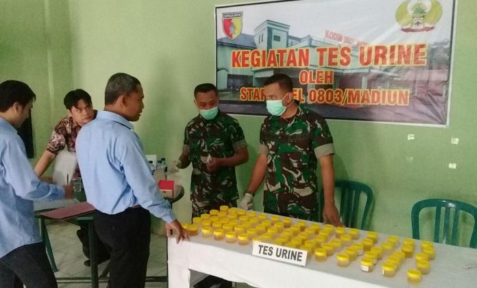 Penyuluhan P4GN Terhadap Prajurit Kodim Madiun. Fto Safuan/ NusantaraNews