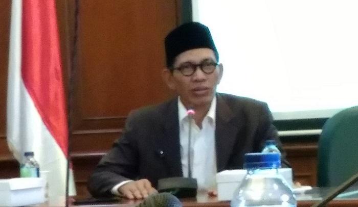 Ketua Panitia Munas dan Konbes Nahdlatul Ulama (NU) 2017, Robikin Emhas. Foto: Dok. NusantaraNews/ Achmad S
