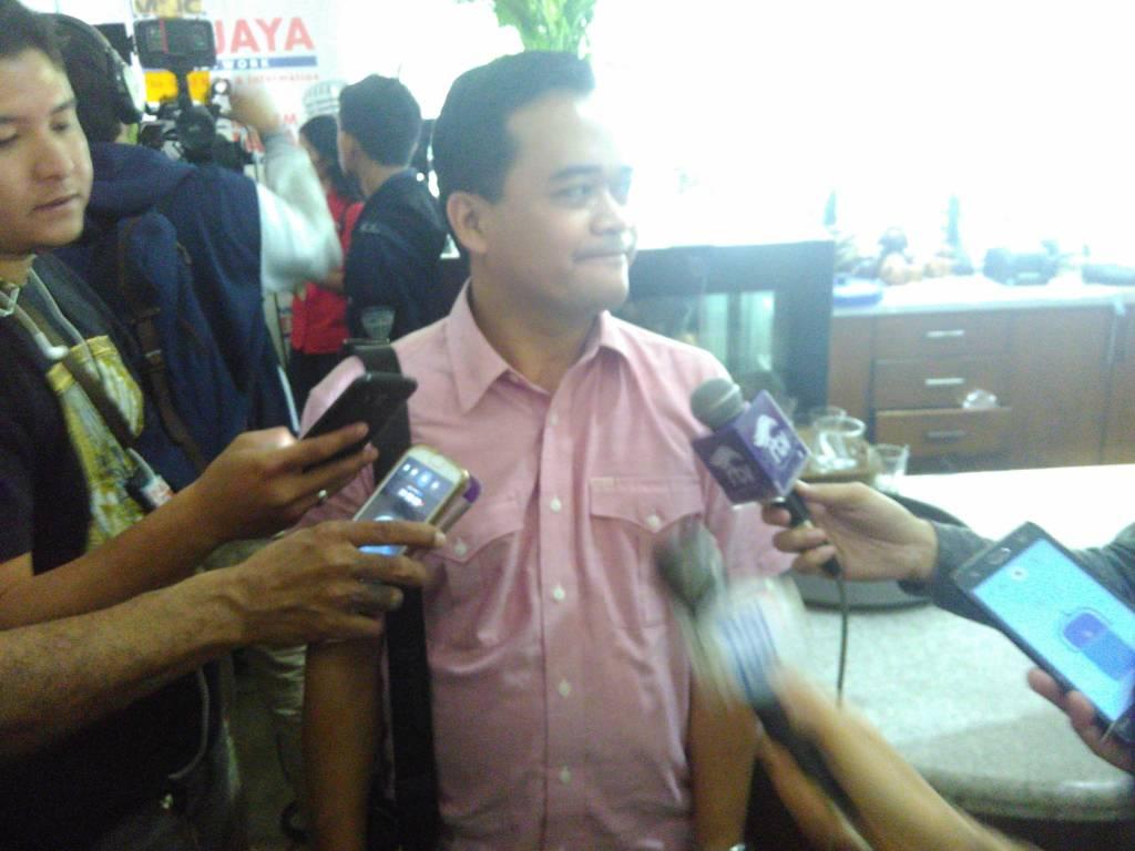 engamat Politik UIN Jakarta, Gun Gun Herianto. Foto: Ucok Al Ayubbi/NusantaraNews