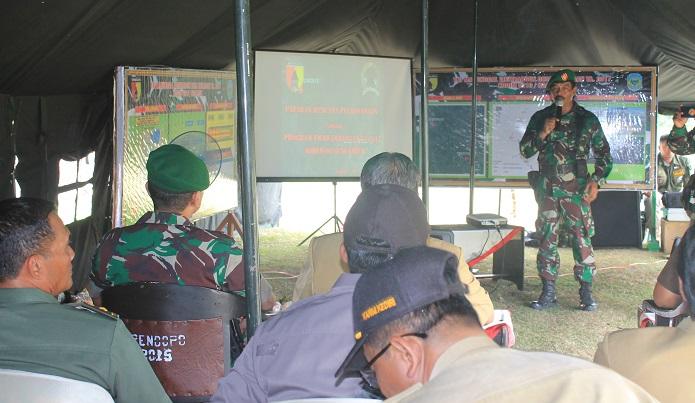 TMMD Kabupaten Nganjuk, Resmi Dimulai. Foto MC0810/ NusantaraNews
