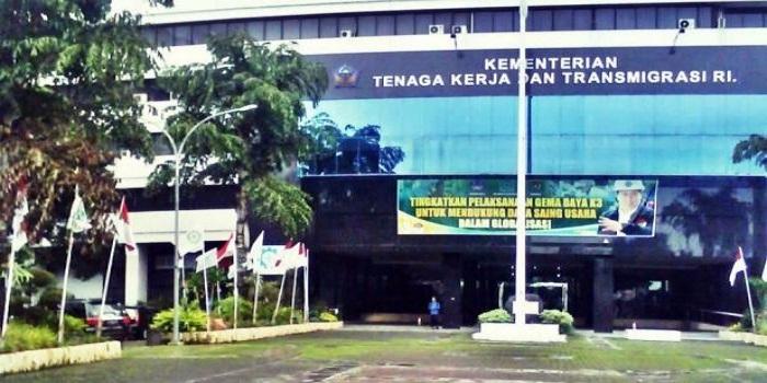 Kantor Kementerian Ketenagakerjaan (Kemnaker) Republik Indonesia. Foto: Do. NusantaraNews/Istimewa