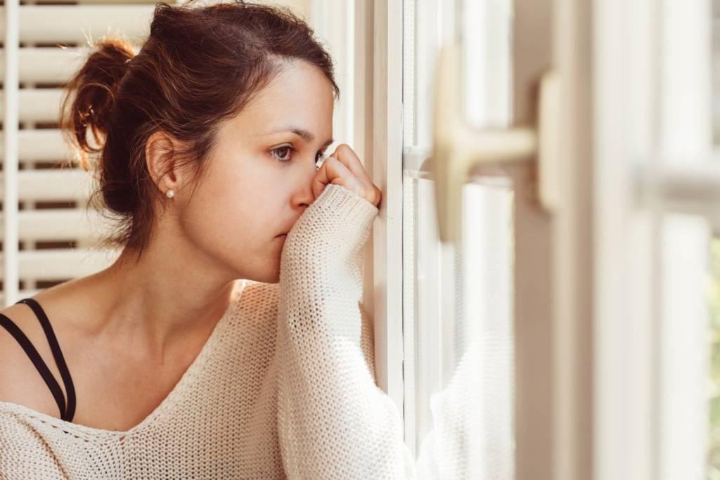 Kecemasan atau Anxiety adalah salah satu bentuk gangguan mental. Foto: iStock/Martin-DM