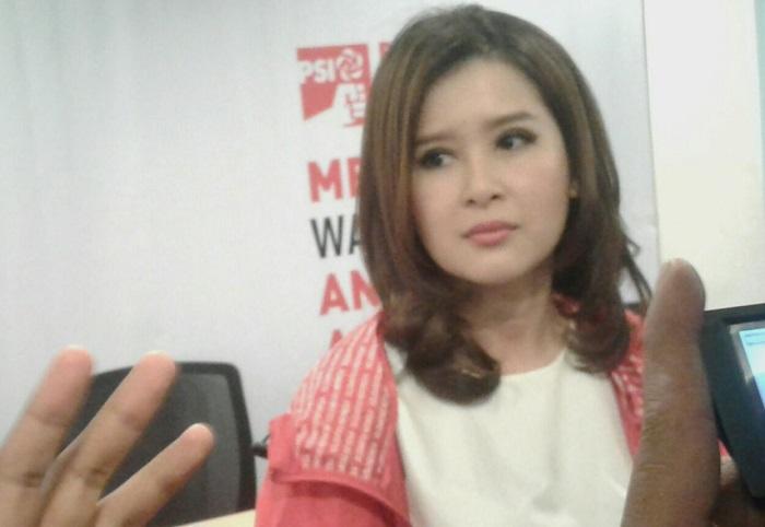 Ketua Umum Partai Solidaritas Indonesia (PSI), Grace Natalie (Foto: Ucok A/Nusantaranews)
