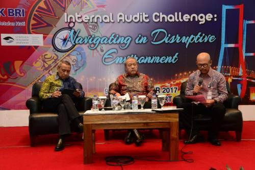 Konferensi Nasional Ikatan Auditor Intern Bank (IAIB) di Surabaya (Foto Dok BPK)