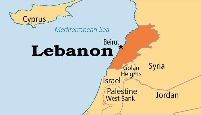 Lebanon Map. Foto: Operation World