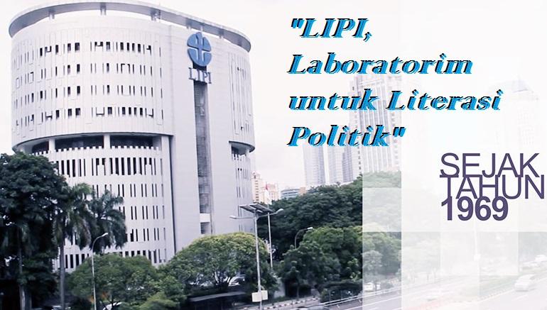 LIPI yang Sains Sentris dan Rujukan Literasi Politik. Ilustrasi NusantaraNews/ Foto: via PIRN XVI - LIPI