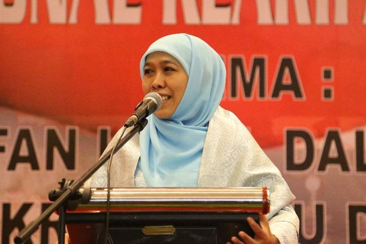 Mensos Khofifah Indar Parawansa (Foto Tri Wahyudi/Nusantaranews.co)
