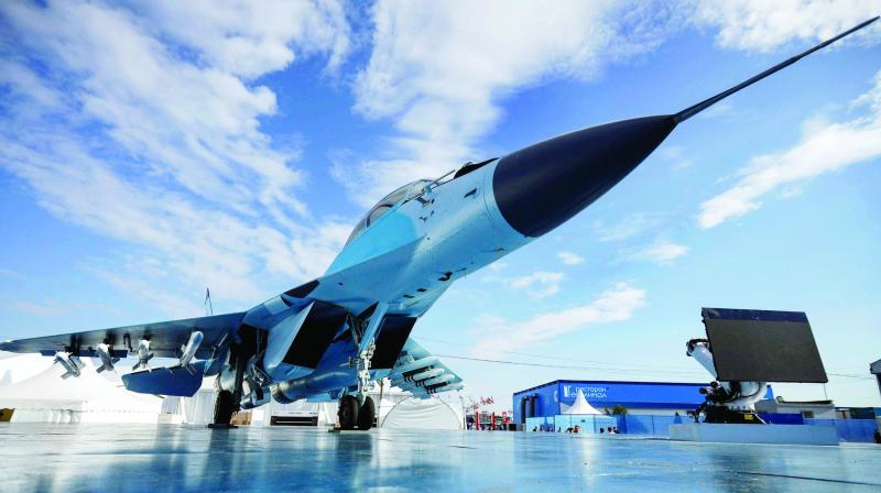 Jet tempur Mikoyan MiG-35 Rusia. Foto: PTI