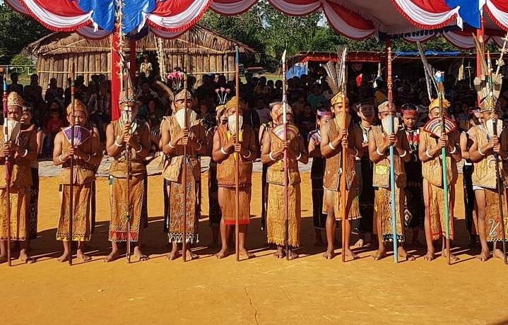 Mubes Dayak Agabag (Foto Eddy Santri/Nusantaranews)