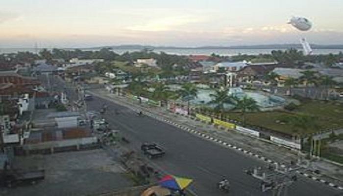 Pemandangan Kota Nunukan, Kaltara. Foto: Wikipedia