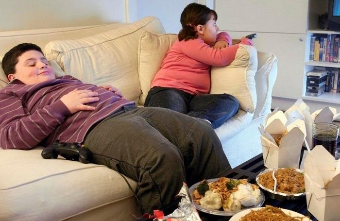 Obesitas pada anak (Foto via asrar7days)
