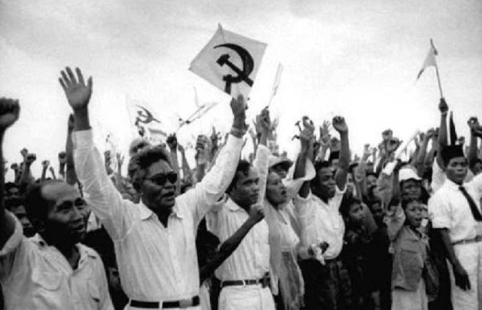 Salah satu ormas pemenangan Partai Komunis Indonesia (PKI), Bara pada Pemilu 1955. Foto: Dokumen