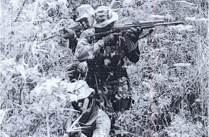Para prajurit Tontaipur saat gelar operasi (Foto Ilustrasi Nusantaranews)