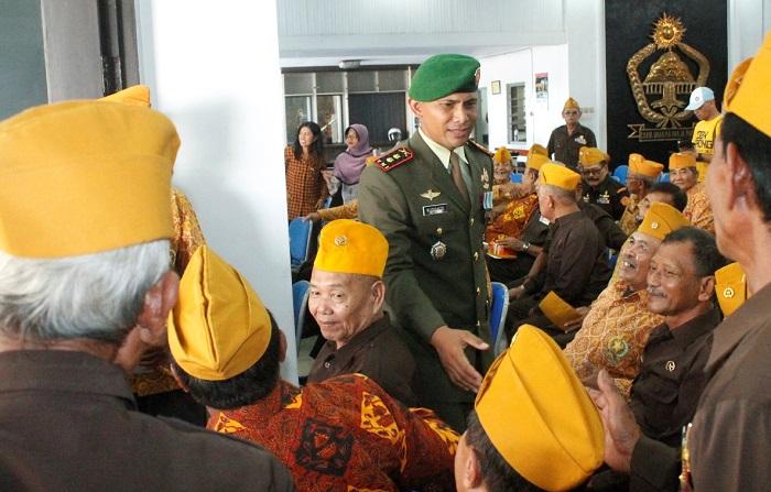 Para veteran di Jember (Foto Sis/Nusantaranews)