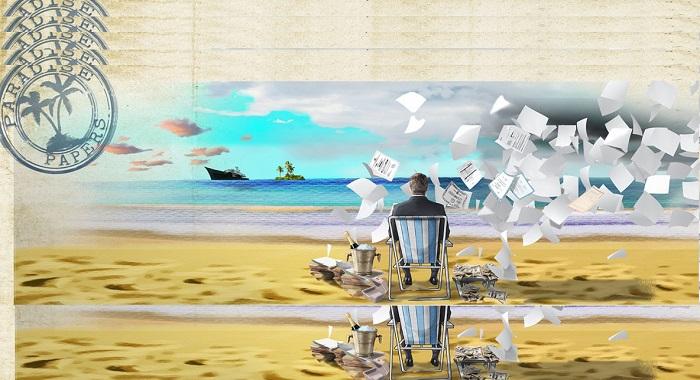 Proyek Paradise Papers (Ilustrasi). Foto: Dok. NNCart/NusantaraNews/via icij.org
