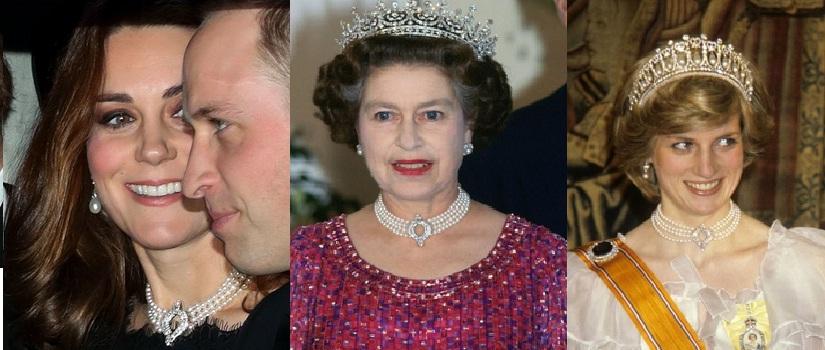 Perhiasan Lady kerajaan Inggris (Britania Raya). Foto: Istimewa/NUSANTARANEWS