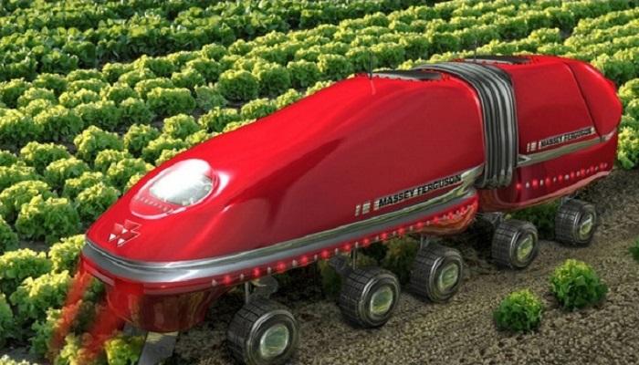 Britania Raya canangkan robot bertani yang diharapkan dapat diluncurkan awal 2020. Foto: The Telehraph