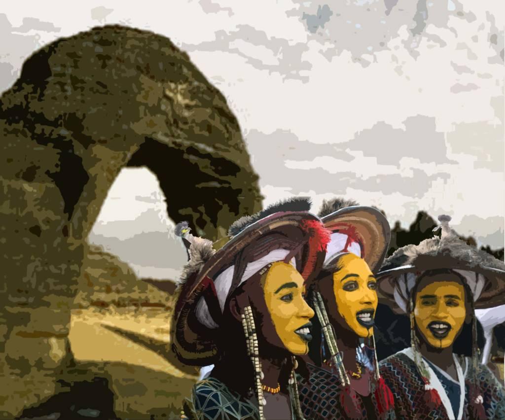 Ilustrasi Tradisi dan Cagar Alam Niger