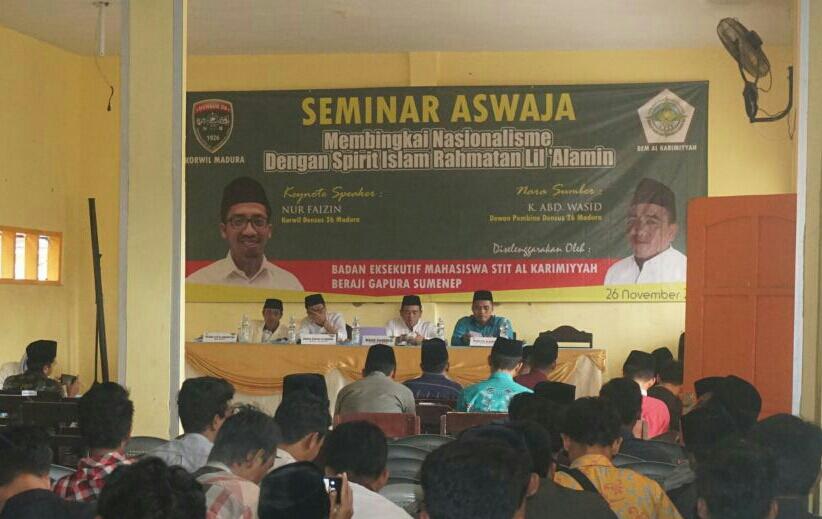 Seminar Densus 26 Korwil Madura (Foto Mahdi/Nusantaranews.co)