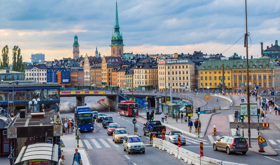 Ibukota Swedia, Stockholm. (Foto: Shutterstock)