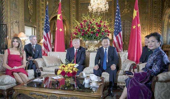 Pertemuan Presiden Trump dan Presiden Xi/Foto: South China Morning Post