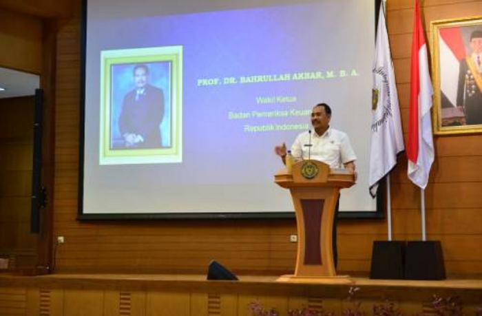 Wakil BPK RI Bahrullah Akbar (Foto Istimewa/Nusantaranews.co)