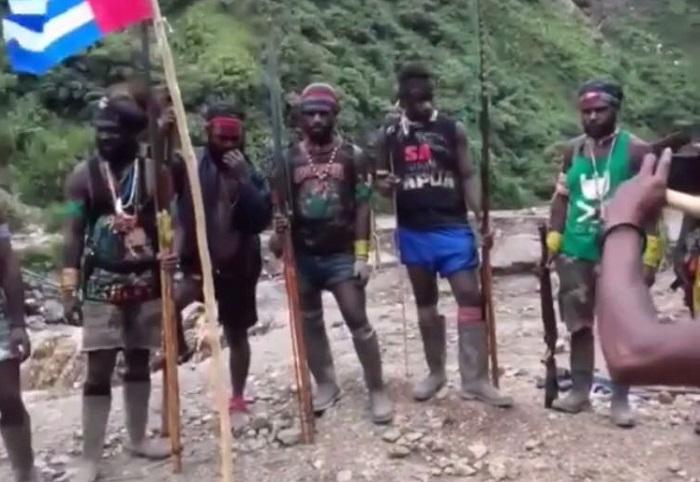 Kelompok separatis di Papua, sandera 1300 warga (Foto Istimewa/Nusantaranews)