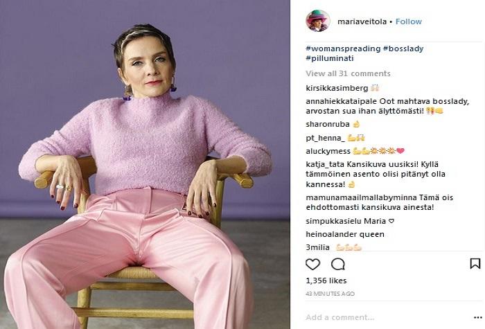 #womanspreading: Instagram. Foto: Riskiana
