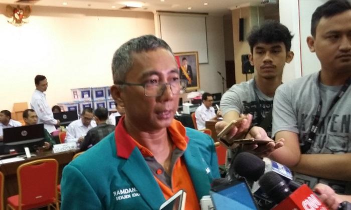 Sekretaris Jenderal (Sekjen) Partai Idaman, Ramdansyah. Foto: Ucok Al Ayubbi/ NusantaraNews